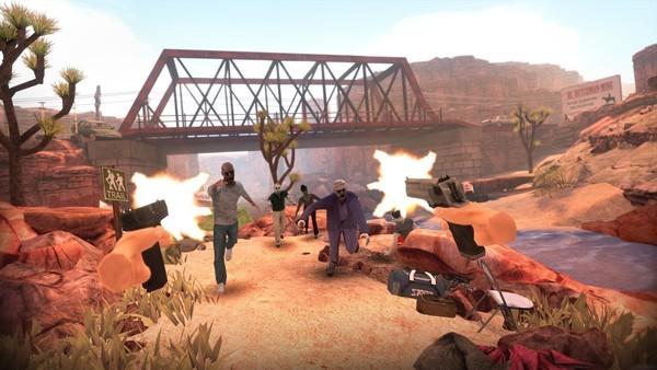 Shooter Game Virtual Reality Games