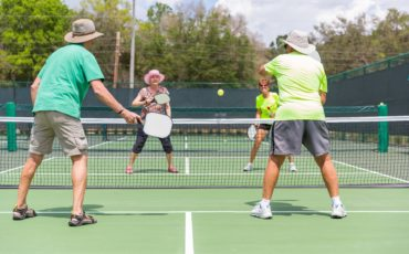 pickleball game