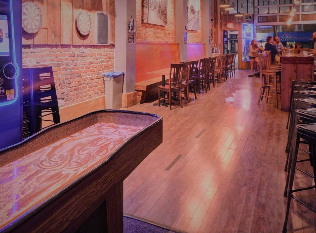 How much does a shuffleboard table cost?